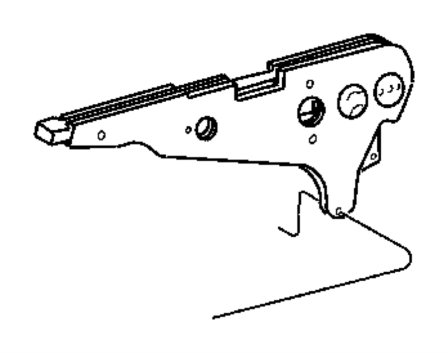 2004 Dodge Sprinter 2500 Screw. M8x20. Mounting. [m8x20