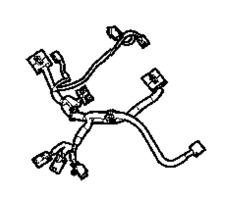 Dodge Dakota Wiring. Power seat. [power 6-way driver seat