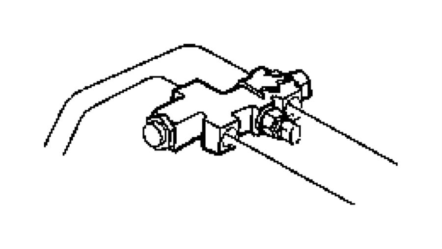 2005 Jeep Wrangler Valve. Proportioning. Brakesgrayb