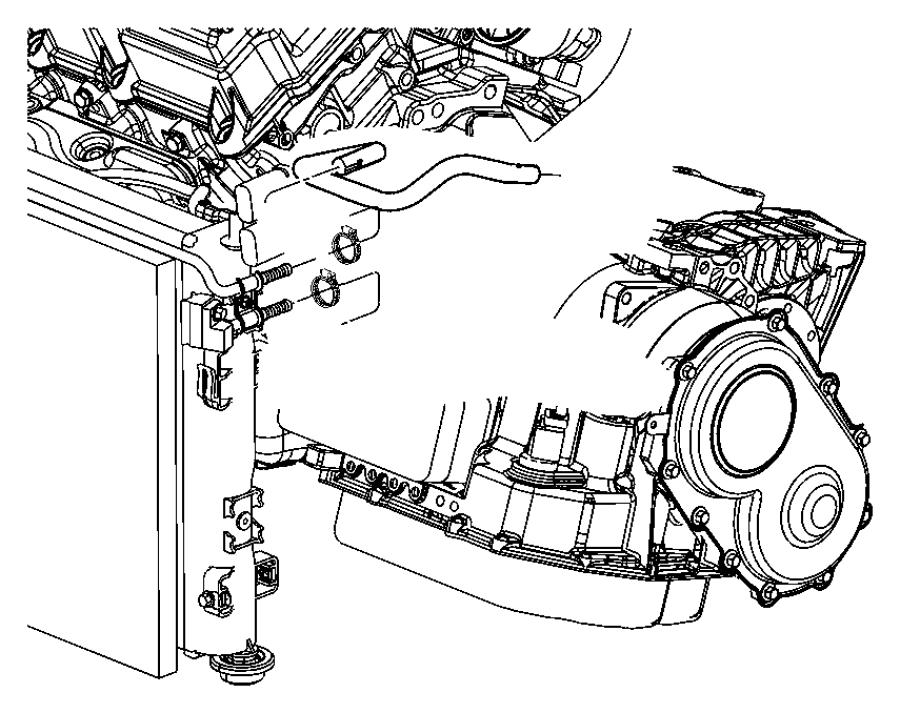 Chrysler Sebring Tube. Trans oil cooler outlet