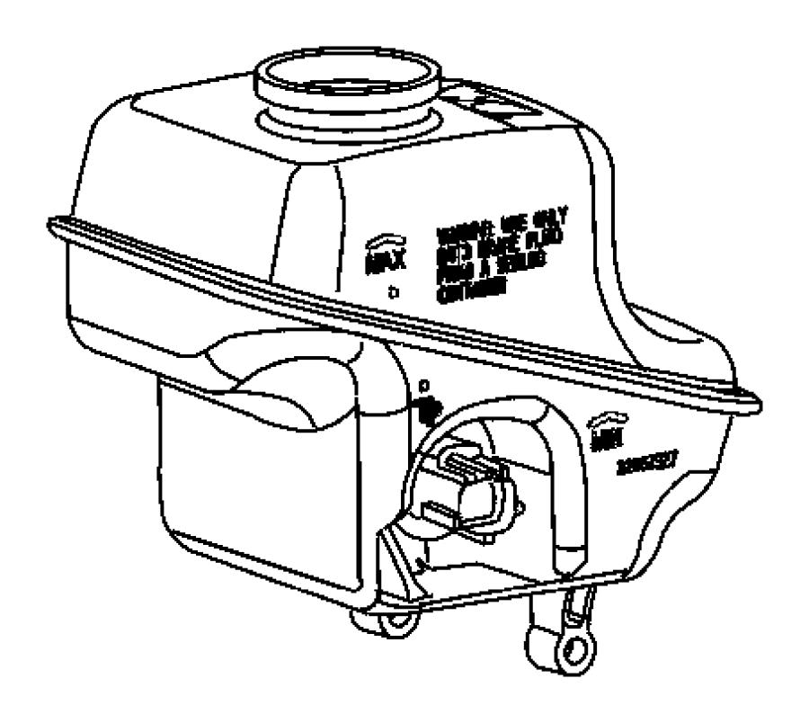 Chrysler 300 Reservoir. Brake master cylinder. With
