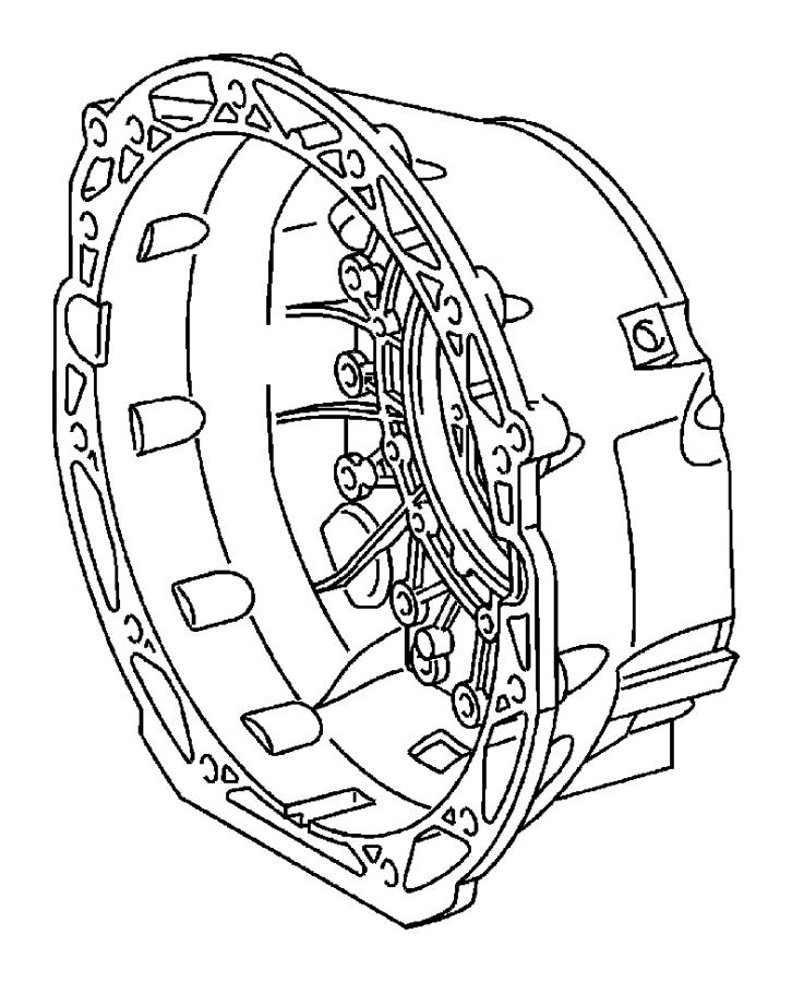 2010 Dodge NITRO O ring. Transmission oil pump