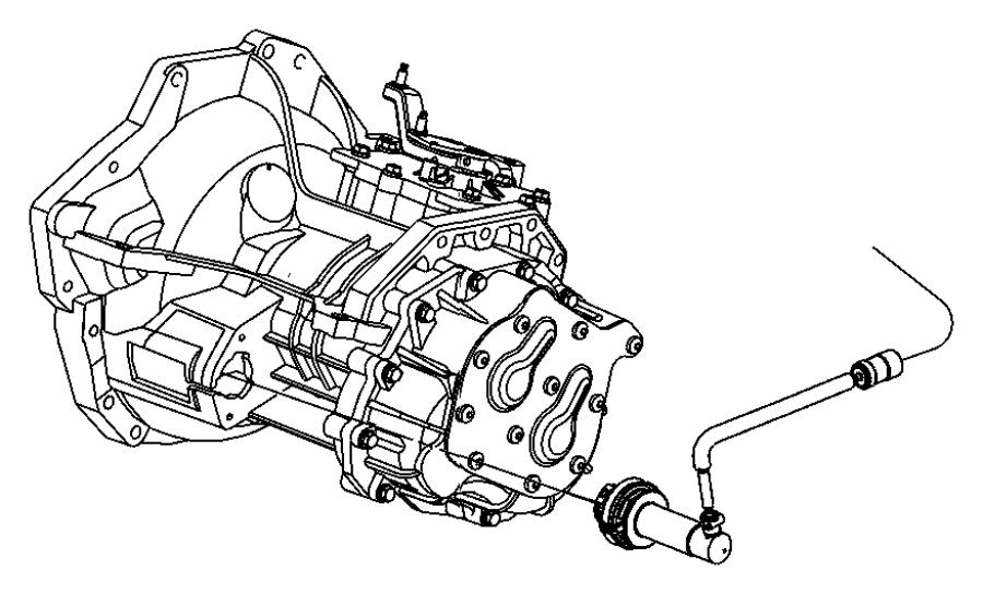 2013 Jeep Compass Actuator. Clutch slave. Mopar