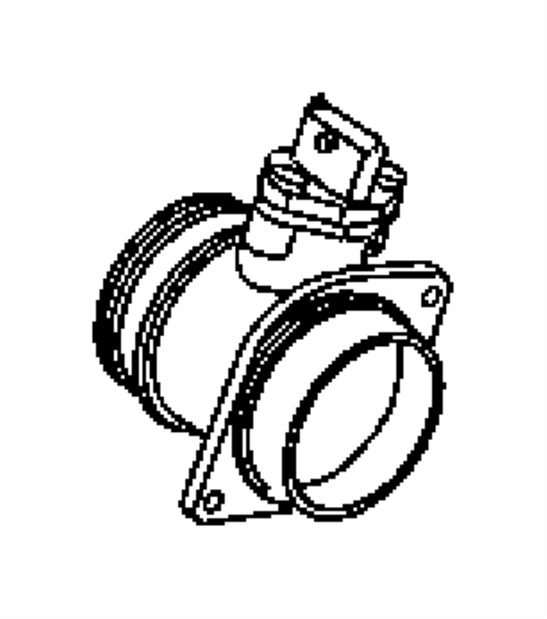2006 Chrysler PT Cruiser Sensor. Mass airflow. Engine