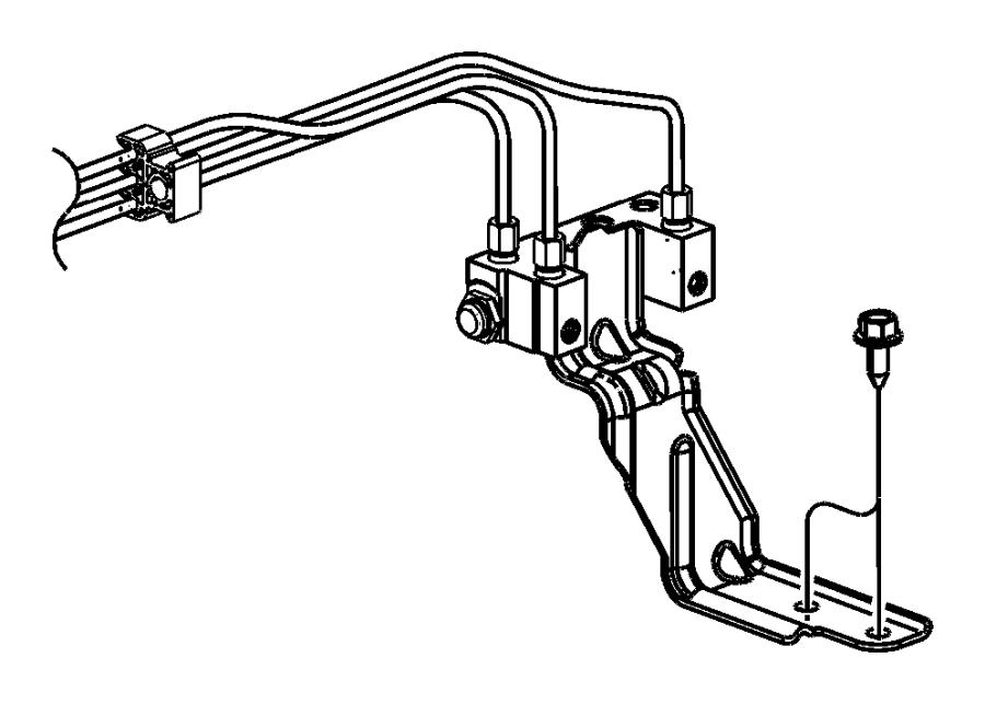 2004 Chrysler Sebring Prop valve. Brake. [power front disc