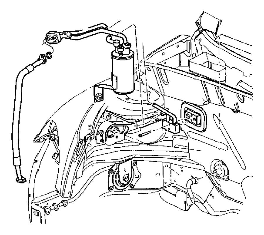 Chrysler PT Cruiser Switch. A/c low pressure cut off
