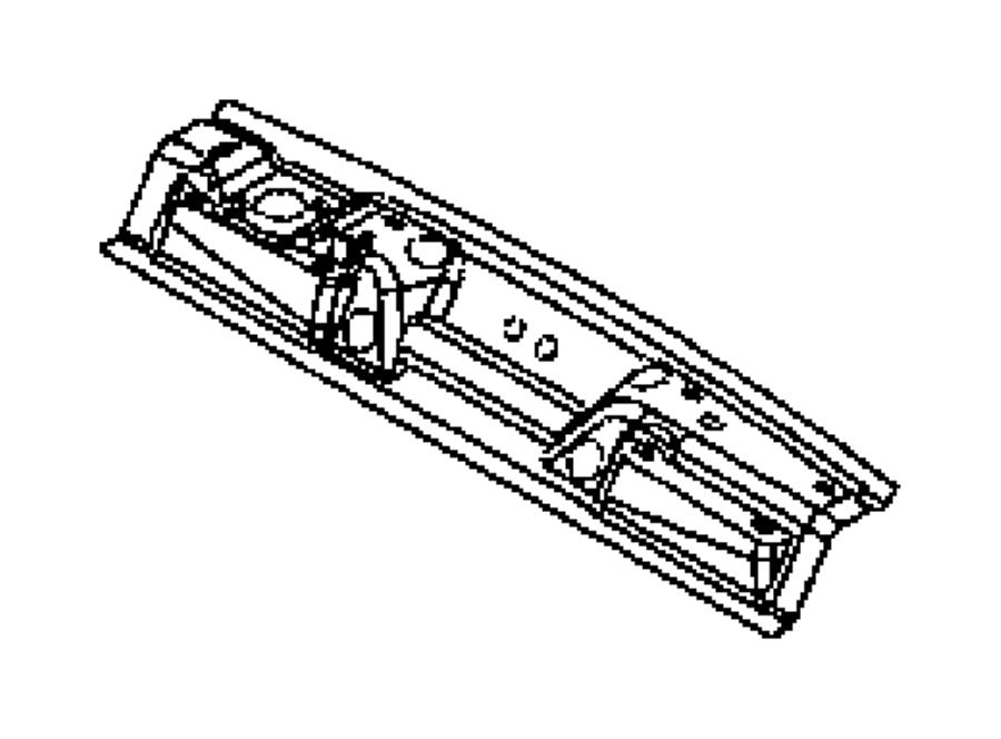2002 Chrysler PT Cruiser Panel. Liftgate opening lower
