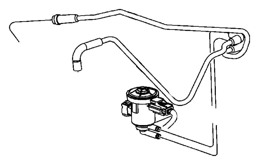 2007 Jeep Liberty Solenoid. Proportional purge. Vacuum