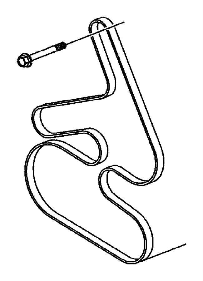 Chrysler Pacifica Belt. Accessory drive, serpentine. Belts
