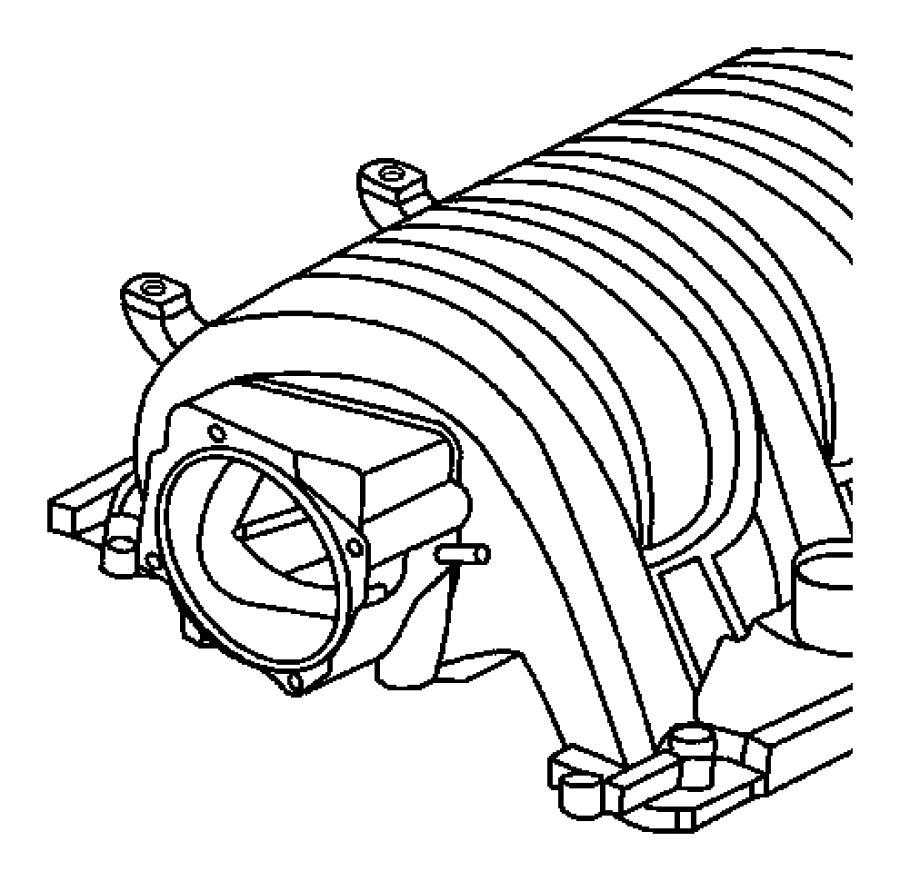 2006 Chrysler 300 Manifold. Intake. Engine, hemi