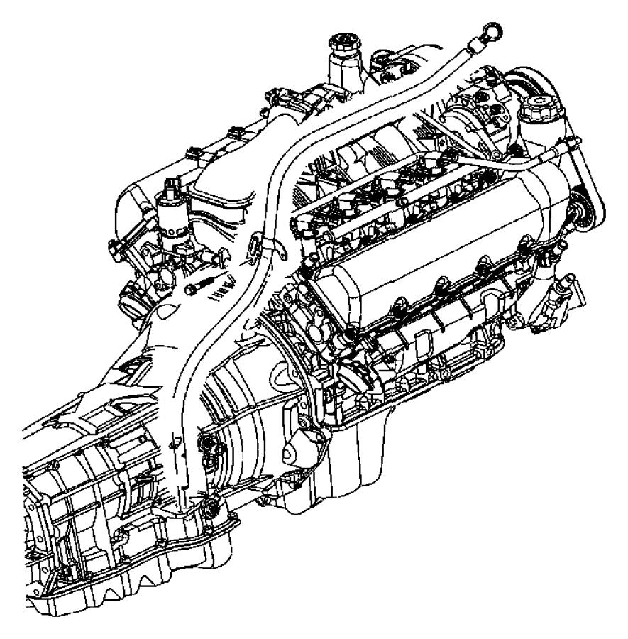 2005 Dodge Dakota Tube. Transmission oil filler. Mounting