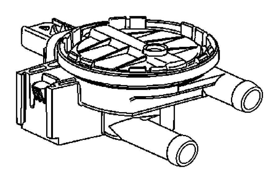 2005 Dodge Ram 1500 Detector. Natural vacuum leak