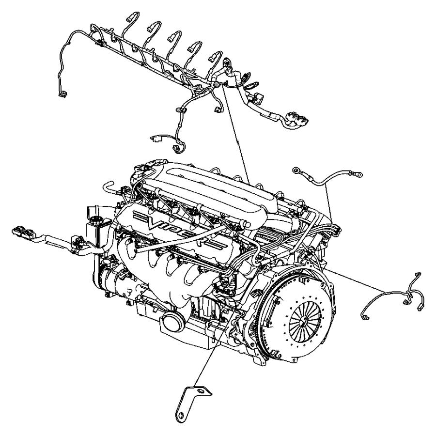 2006 Dodge Viper Wiring. Engine. Related, mopar
