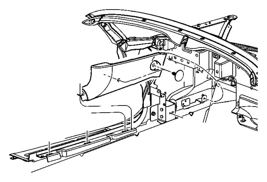 2004 Dodge Ram 1500 Screw. 190-16x1.00. Mounting, side