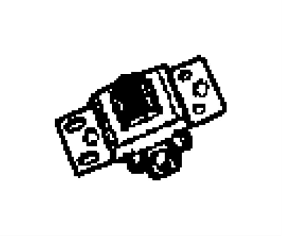 Dodge Grand Caravan Switch. Door lock. Right or left. Trim