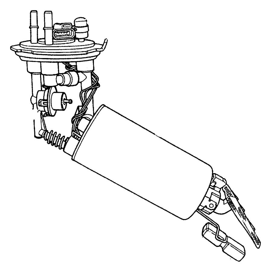 1996 Chrysler Cirrus Modul kit. Fuel pump/level unit