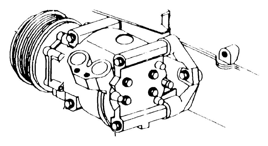 2000 Dodge Stratus Compressor. Air conditioning
