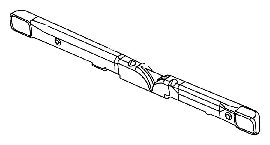 1997 Chrysler Cirrus Reinforcement. Instrument panel