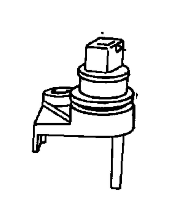 Chrysler Concorde Sensor package. Manual valve lever