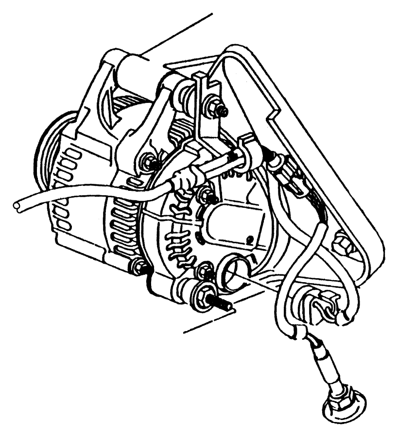 Chrysler Concorde Bolt, used for: bolt and coned washer
