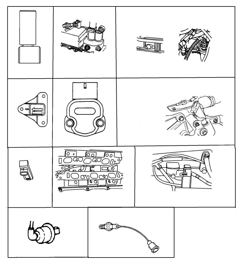 2008 Dodge Dakota Sensor. Oil pressure. Sensors, mopar