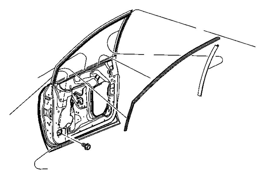 Dodge Caravan Screw. Truss head. M6x1x15. Sliding door