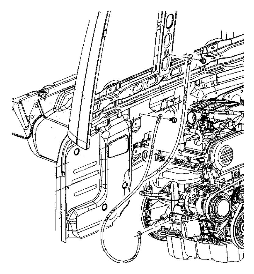 2010 Jeep Compass Screw. Hex head. M6x1x15. Mounting
