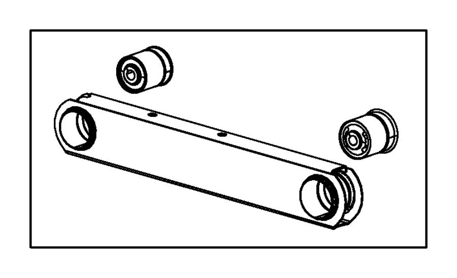 2005 Jeep Liberty Arm. Lower control. Rear. [venezuela ckd