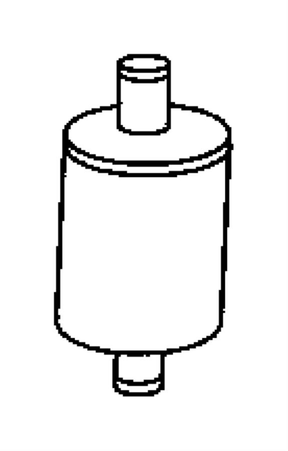 2015 Ram 2500 Filter. Leak detection pump. Dectection