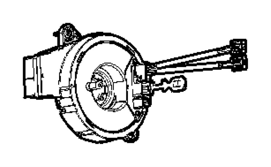 Dodge Durango Clockspring. Steering column control module