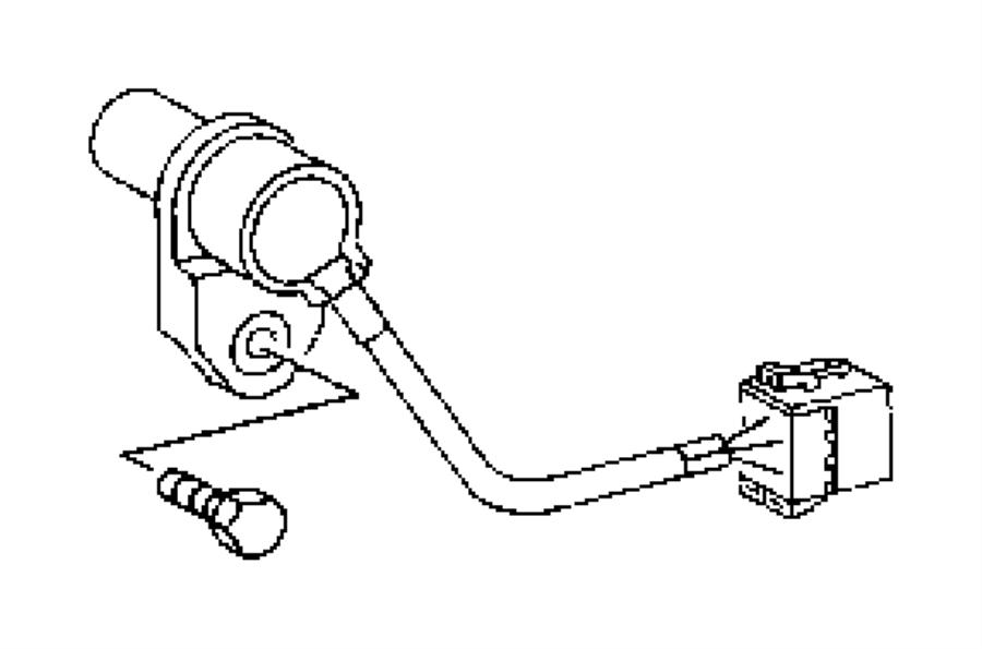2006 Dodge Sprinter 2500 Sensor. Vehicle speed. Pulse