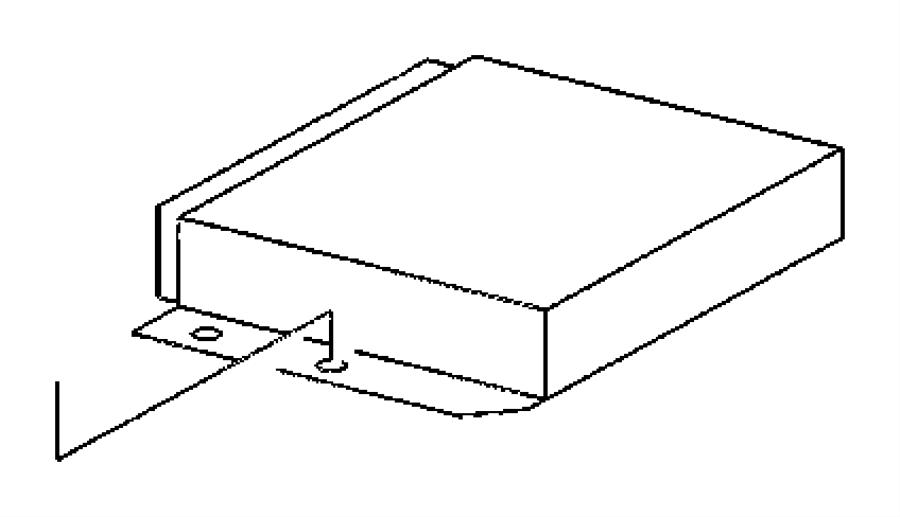 2004 Dodge SPRINTER 3500 Module. Powertrain control