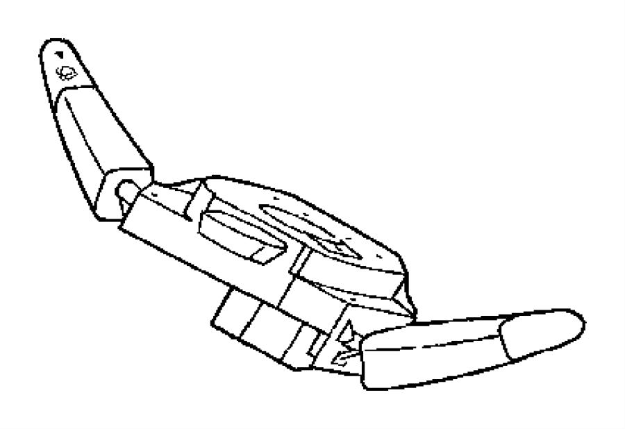 Dodge SPRINTER Switch. Steering column. [158 wheelbase