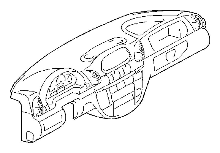 2006 Dodge SPRINTER 3500 Clip. U type. Paneling to right b