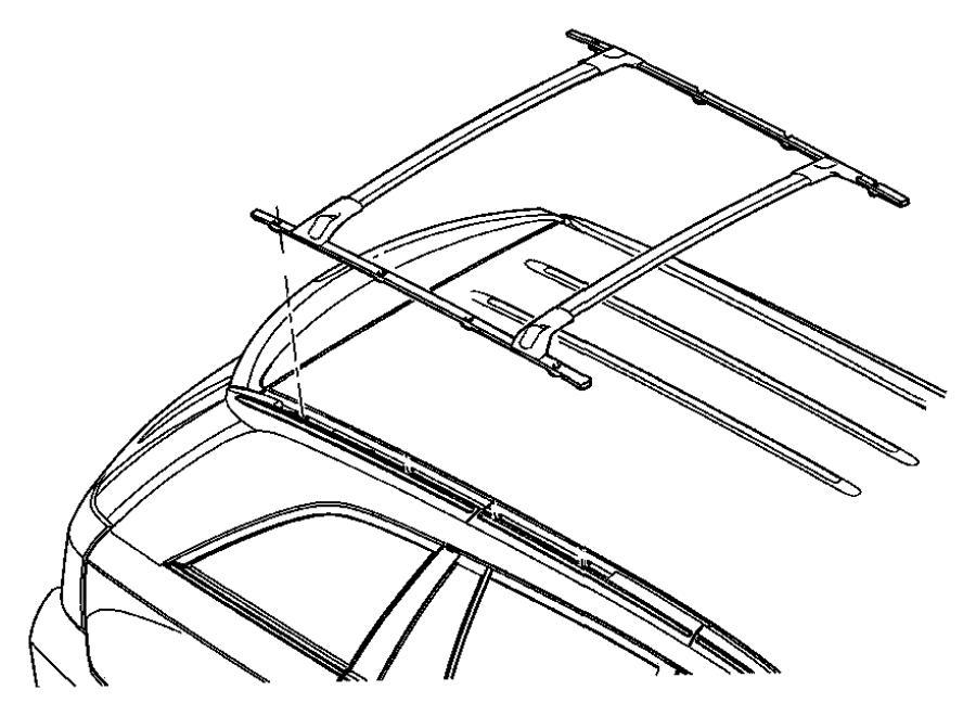 2007 Chrysler Pacifica Rack kit. Multipurpose. Usable