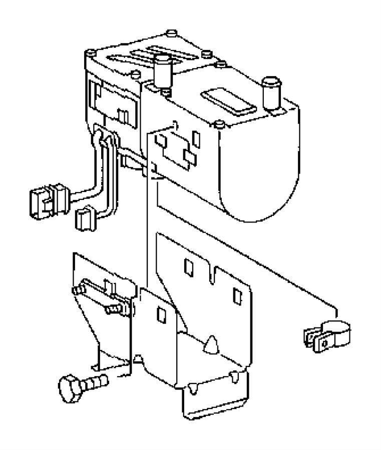 2005 Dodge Sprinter 2500 Heater. Supplemental diesel fuel