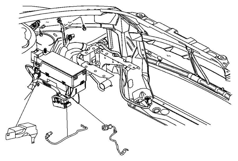 2008 Chrysler PT Cruiser Wiring. Jumper. Totally