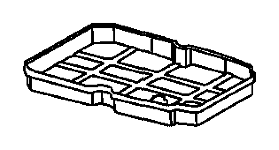 Dodge SPRINTER Pan. Transmission oil. Pan kit includes
