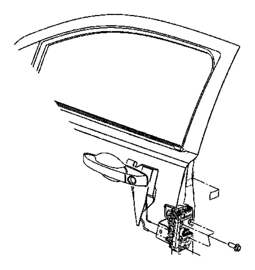 2011 Dodge Caliber Panel. Door outer, front door outer