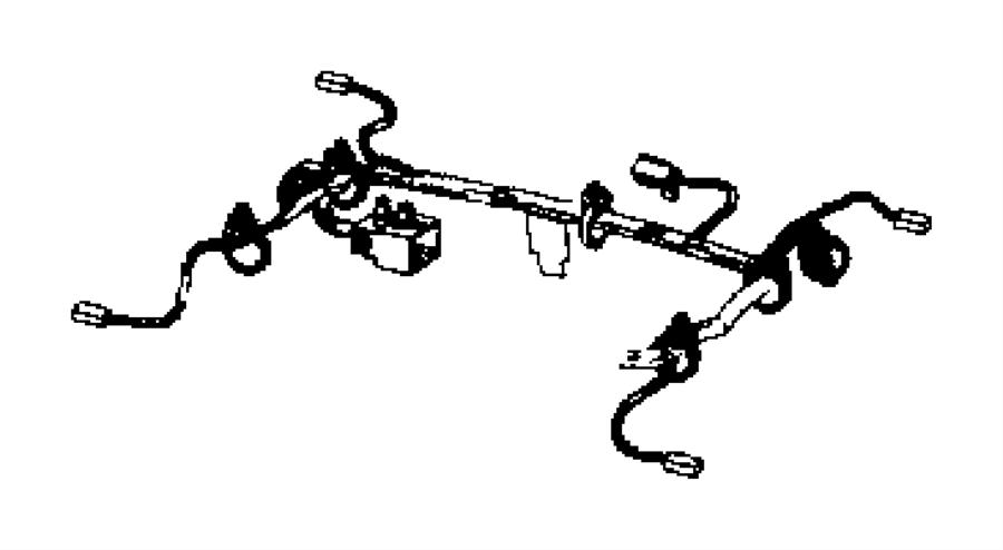 Dodge Caliber Wiring Seat Track Position Sensor