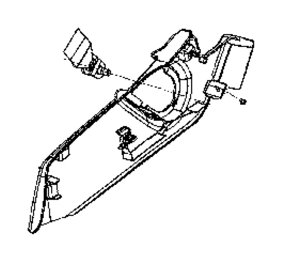 Jeep Patriot Shield, shield side. Recliner, seat. Inboard
