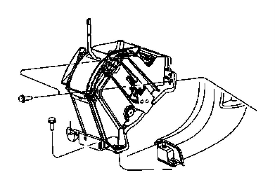 Dodge Caliber Shifter. Transmission. Without [autostick (r