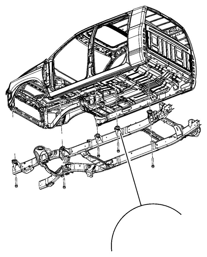 2007 Dodge Ram 1500 LARAMIE MEGA CAB 5.7L Hemi V8 A/T 4X4