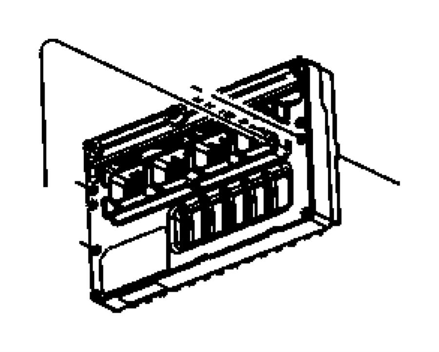 Dodge Caravan Module. Powertrain control. Generic