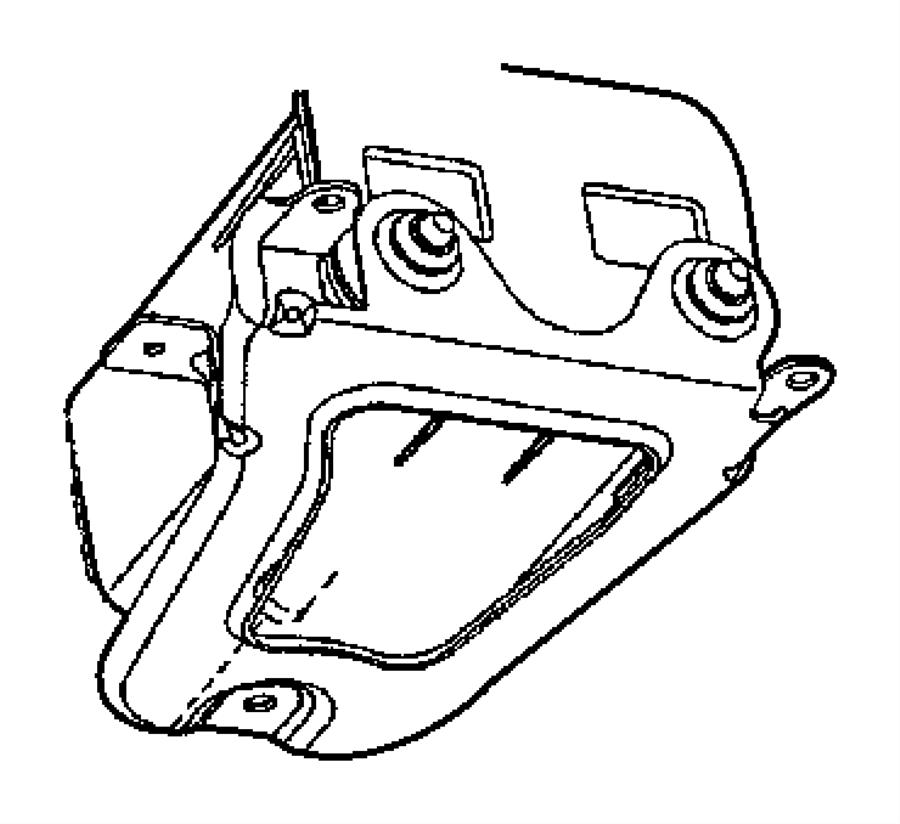 2002 Chrysler Town & Country Filter. Ldp base. Fuel