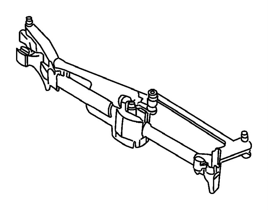 2005 Dodge Grand Caravan Motor kit. Windshield wiper