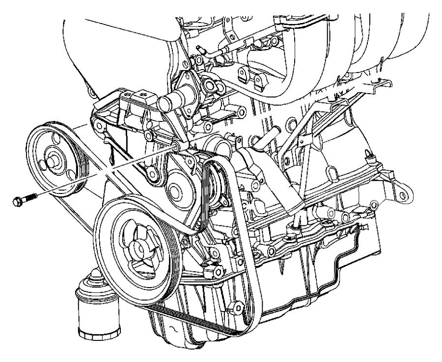 2007 chrysler sebring engine diagram