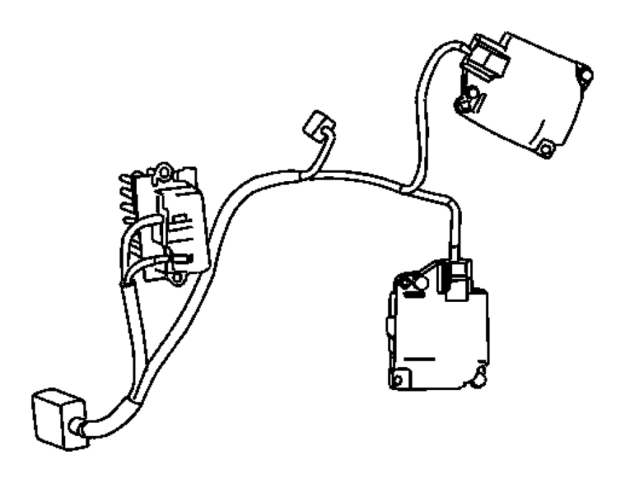2006 Dodge Grand Caravan Wiring. Used for: a/c and heater