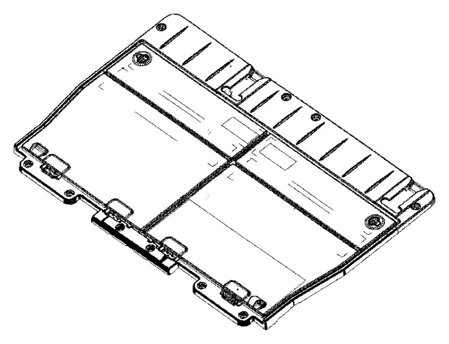 2007 Dodge Caravan Door. Load floor. [j1], [j3]. Trim