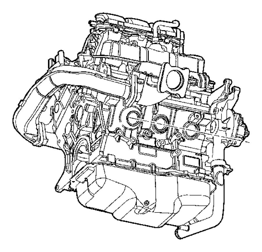 1997 Dodge Intrepid Heater. Engine block. Engnie